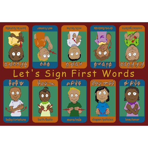 First Signs Rug