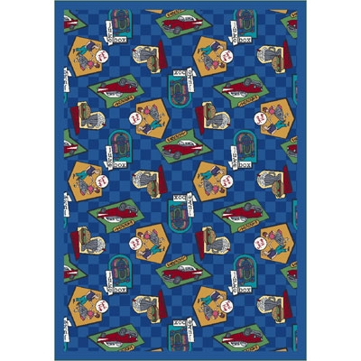 Fabulous Fifties Rug - Blue