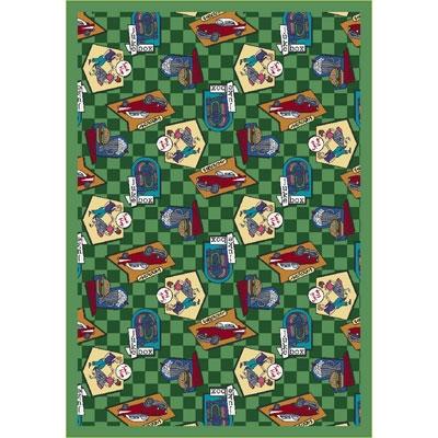 Fabulous Fifties Rug - Green