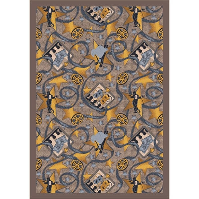 Silver Screen Rug - Taupe