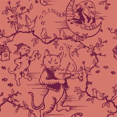 Fancy Fiddler Rug - Rose