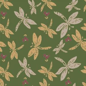 Dragonflies Rug - Green