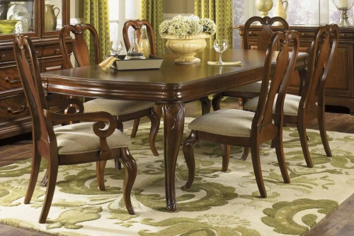 D Set Evolution Rectangular Leg Dining Collection Queen Anne Chair 389 2581
