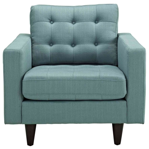 Empress Upholstered Armchair - Laguna