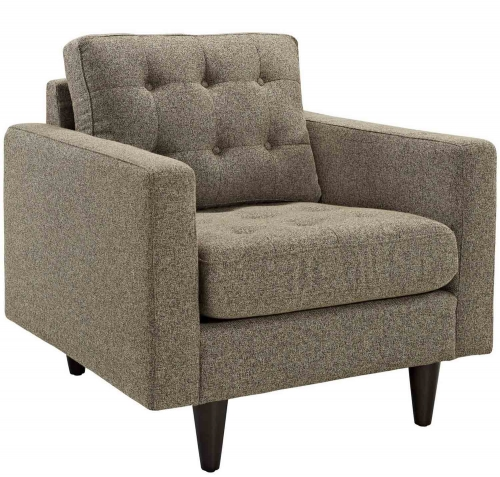 Empress Upholstered Armchair - Oatmeal