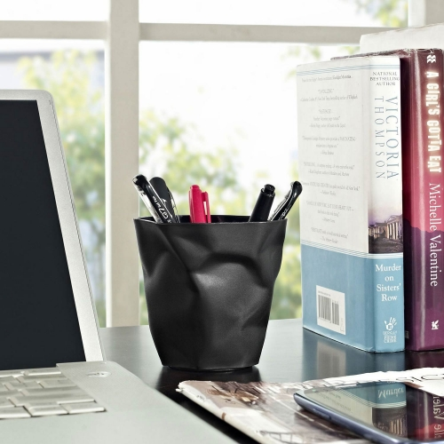 Lava Pencil Holder - Black
