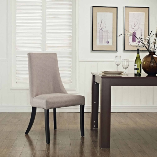 Reverie Dining Side Chair - Beige