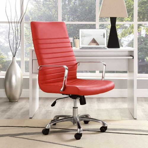 Finesse Highback Office Chair - Red
