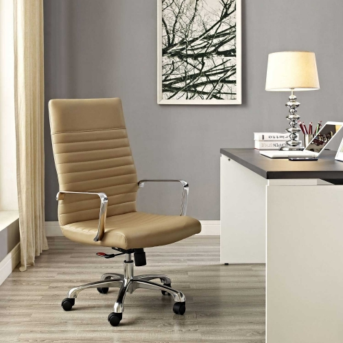 Finesse Highback Office Chair - Tan