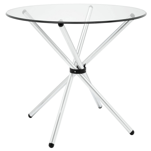 Baton Dining Table - Clear
