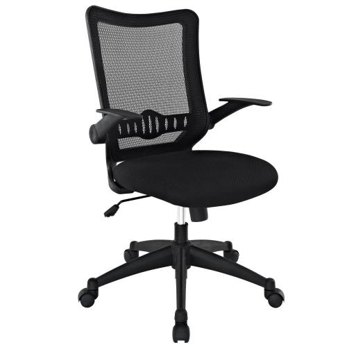 Explorer Mid Back Office Chair - Black