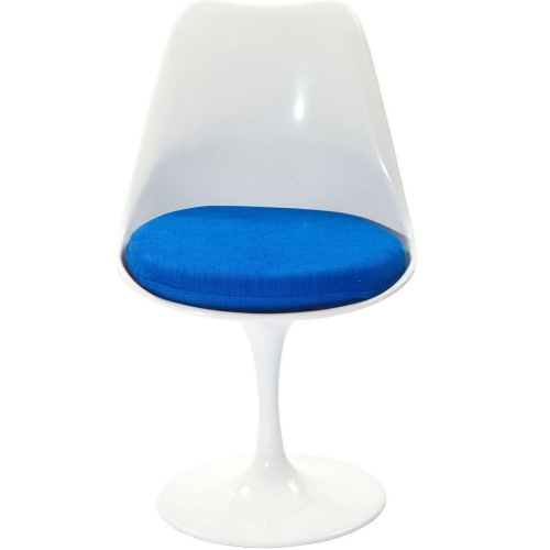 Lippa Dining Fabric Side Chair - Blue