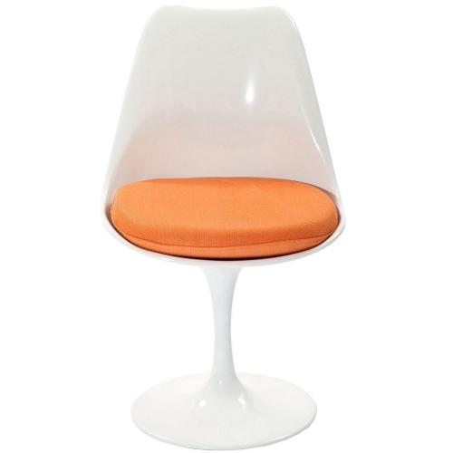 Lippa Dining Fabric Side Chair - Orange