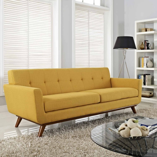Engage Upholstered Sofa - Citrus