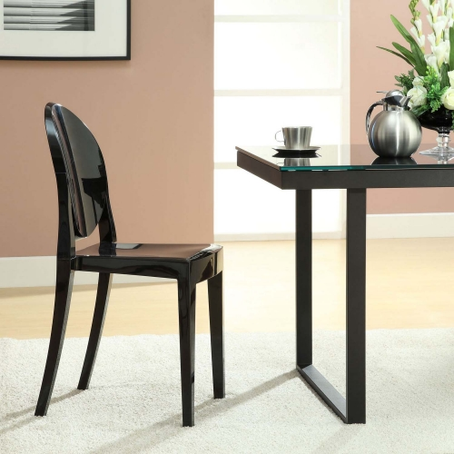 Casper Dining Side Chair - Black