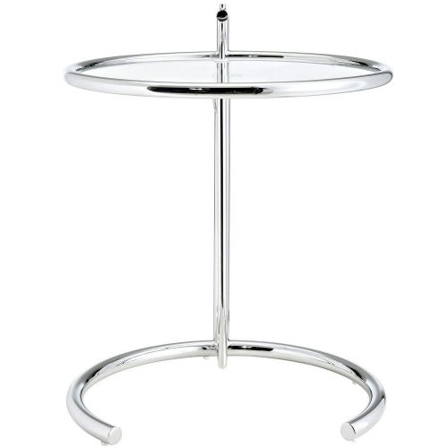 Eileen Gray Side Table - Silver