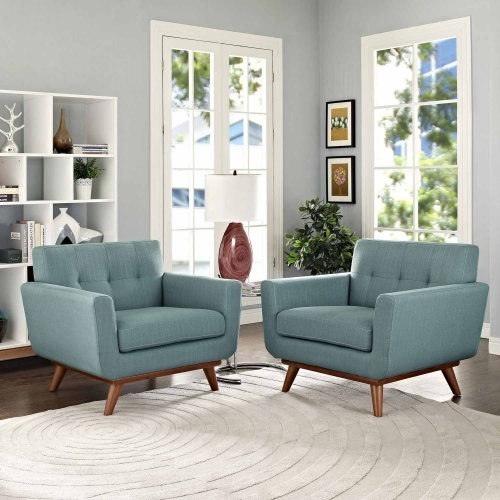 Engage Armchair Wood Set of 2 - Laguna