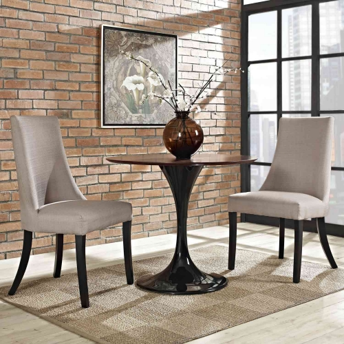 Reverie Dining Side Chair Set of 2 - Beige