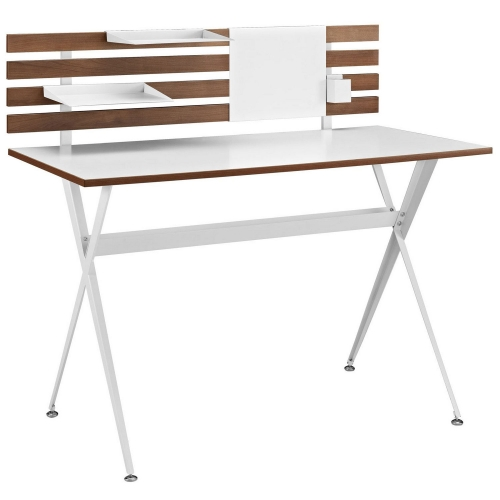 Knack Wood Office Desk - Cherry