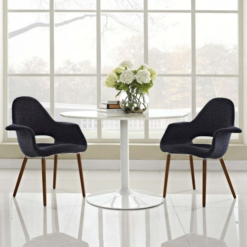 Aegis Dining Armchair Set of 2 - Black