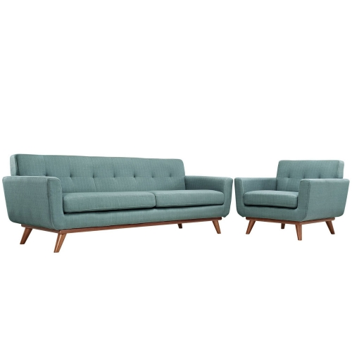 Engage Armchair and Sofa Set of 2 - Laguna