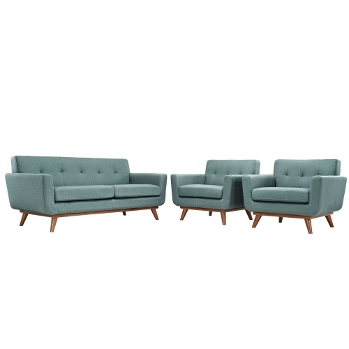 Engage Armchairs and Loveseat Set of 3 - Laguna