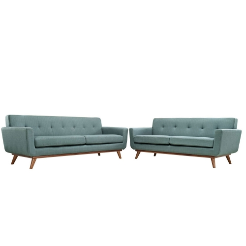 Engage Loveseat and Sofa Set of 2 - Laguna