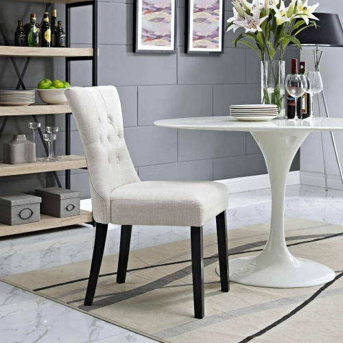 Silhouette Dining Side Chair - Beige