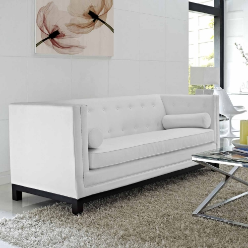 Imperial Sofa - White