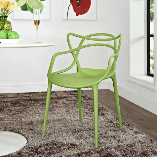 Entangled Dining Armchair - Green