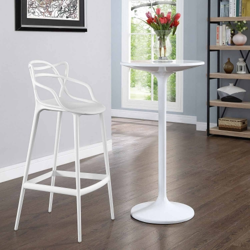 Entangled Bar Stool - White