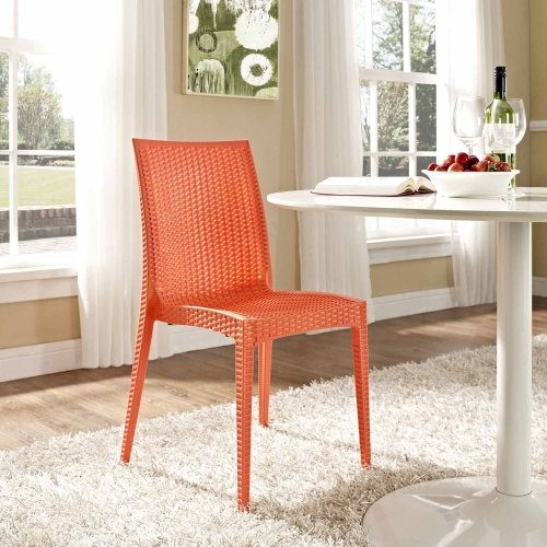 Intrepid Dining Side Chair - Orange
