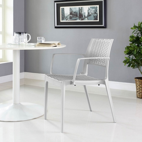 Astute Dining Armchair - Gray