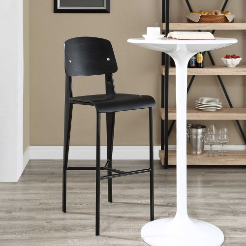 Cabin Bar Stool - Black