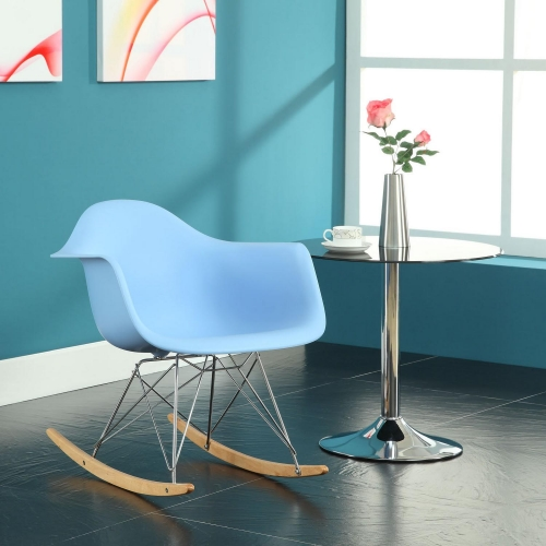 Rocker Lounge Chair - Blue