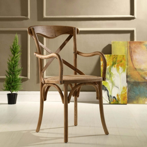 Gear Dining Armchair - Walnut
