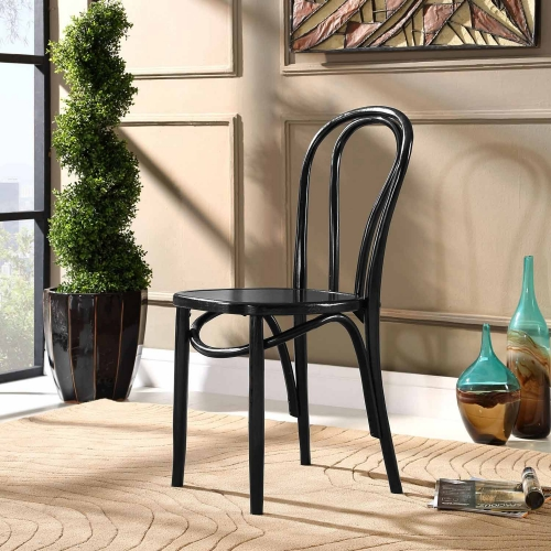 Eon Dining Side Chair - Black