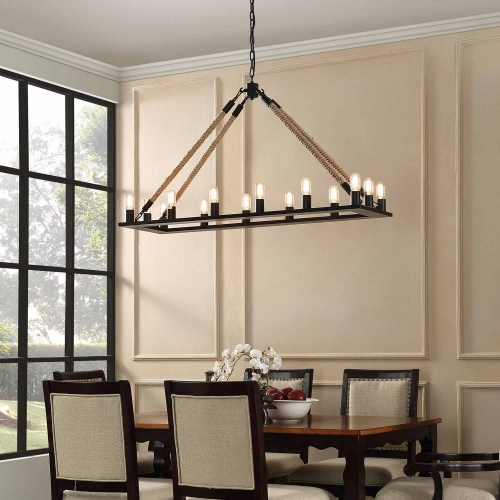 Bridge Chandelier - Black