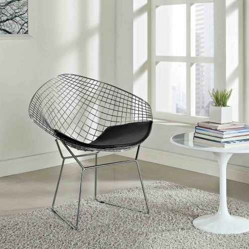CAD Lounge Chair - Black