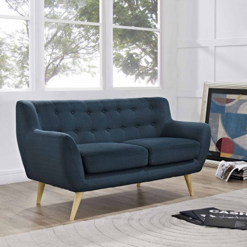 Remark Loveseat - Azure