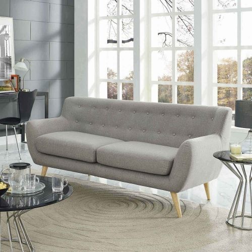 Remark Sofa - Light Gray