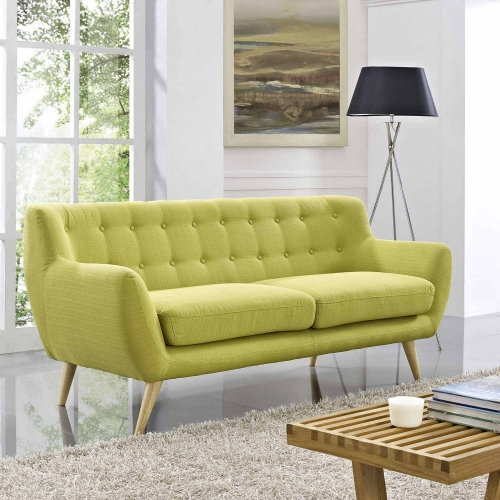 Remark Sofa - Wheatgrass