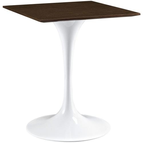 Lippa 24 Wood Top Dining Table - Walnut