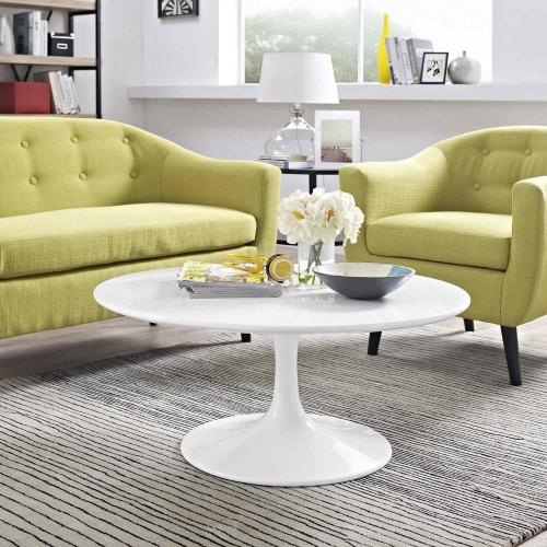 Lippa 36 Coffee Table - White