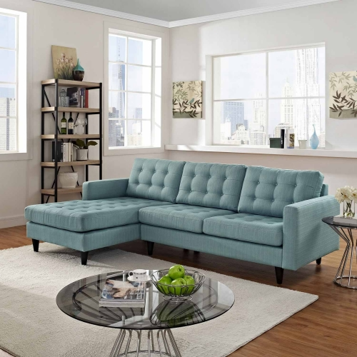 Empress Left-Arm Sectional Sofa - Laguna