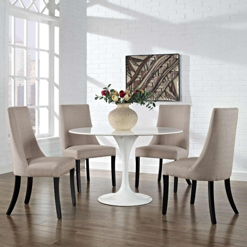 Reverie Dining Side Chair Set of 4 - Beige
