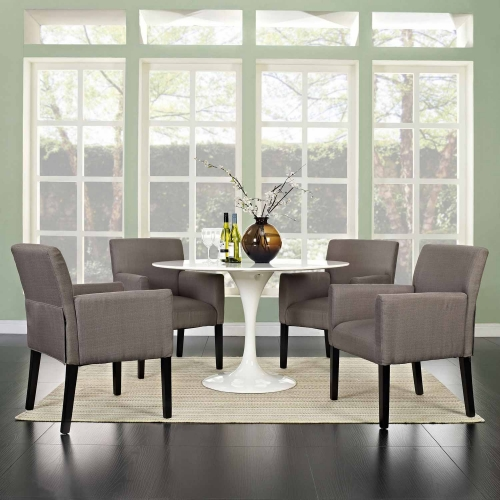 Chloe Armchair Set of 4 - Gray