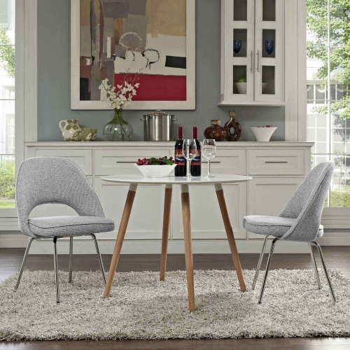 Cordelia Dining Chairs Set of 2 - Light Gray
