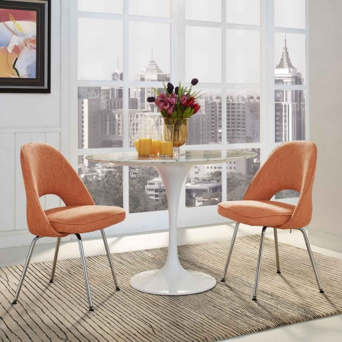 Cordelia Dining Chairs Set of 2 - Orange