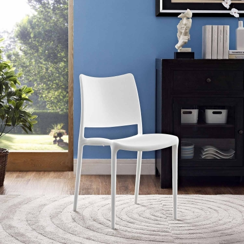 Hipster Dining Side Chair - White